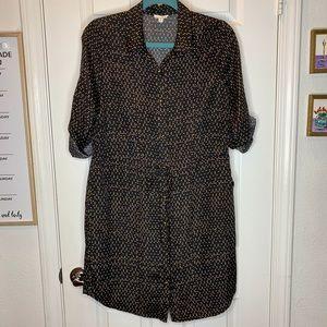 Woman's dress Madison Jules button up size medium